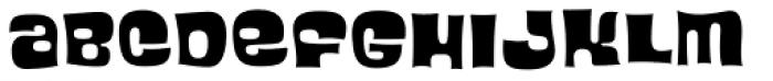 Blackcurrant Squash Font UPPERCASE