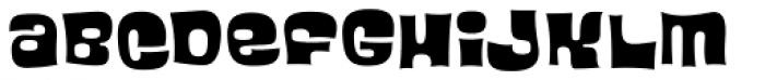 Blackcurrant Squash Font LOWERCASE