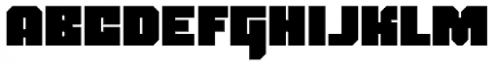 Blackentina 4F Font UPPERCASE