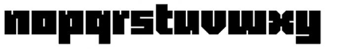 Blackentina 4F Font LOWERCASE