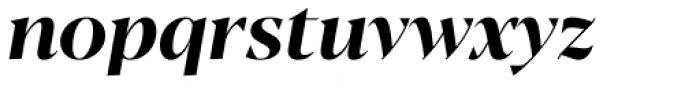 Blacker Display Bold Italic Font LOWERCASE