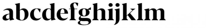 Blacker Display Bold Font LOWERCASE