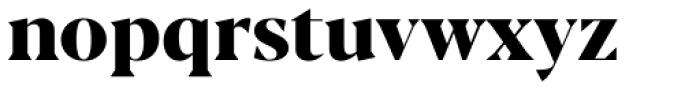 Blacker Display Extra Bold Font LOWERCASE