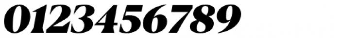 Blacker Display Heavy Italic Font OTHER CHARS