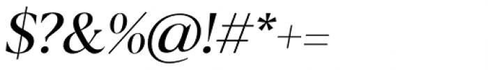 Blacker Display Italic Font OTHER CHARS