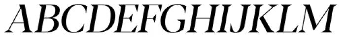 Blacker Display Italic Font UPPERCASE