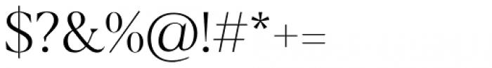 Blacker Display Light Font OTHER CHARS