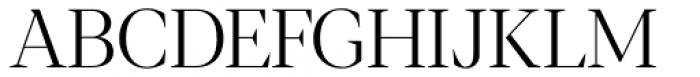 Blacker Display Light Font UPPERCASE