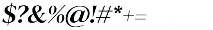 Blacker Display Medium Italic Font OTHER CHARS