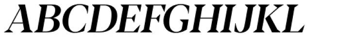 Blacker Display Medium Italic Font UPPERCASE