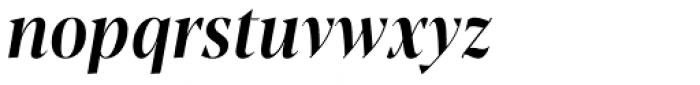 Blacker Pro Display Condensed Medium Italic Font LOWERCASE