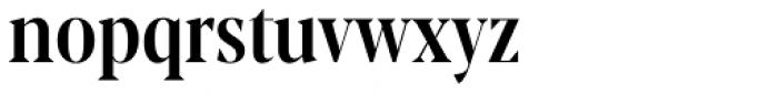 Blacker Pro Display Condensed Medium Font LOWERCASE