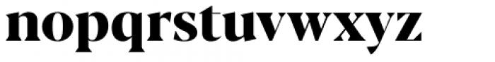 Blacker Pro Display Extrabold Font LOWERCASE