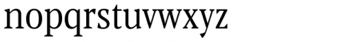 Blacker Pro Text Condensed Book Font LOWERCASE