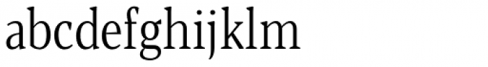 Blacker Pro Text Condensed Light Font LOWERCASE