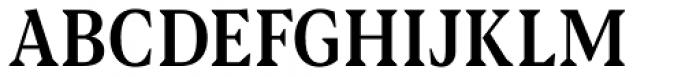 Blacker Pro Text Condensed Medium Font UPPERCASE