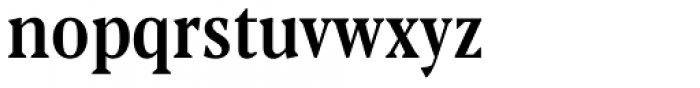 Blacker Pro Text Condensed Medium Font LOWERCASE