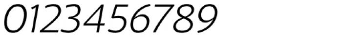 Blacker Sans Pro Light Italic Font OTHER CHARS