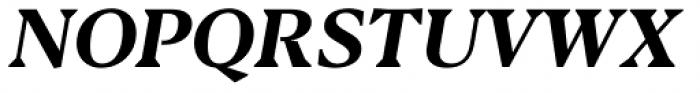 Blacker Text Bold Italic Font UPPERCASE