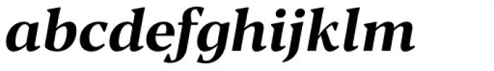 Blacker Text Bold Italic Font LOWERCASE