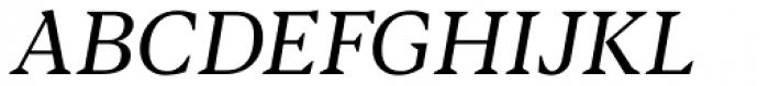 Blacker Text Book Italic Font UPPERCASE