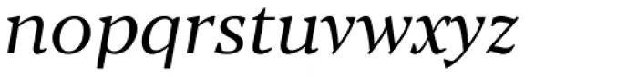 Blacker Text Book Italic Font LOWERCASE