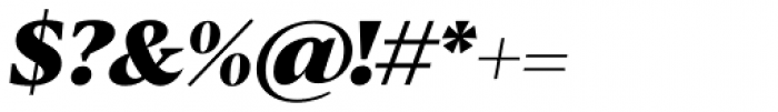 Blacker Text Heavy Italic Font OTHER CHARS