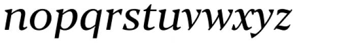 Blacker Text Italic Font LOWERCASE