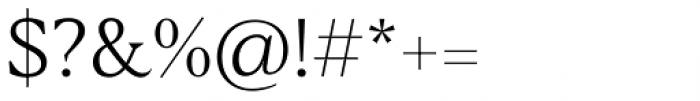 Blacker Text Light Font OTHER CHARS