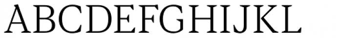 Blacker Text Light Font UPPERCASE
