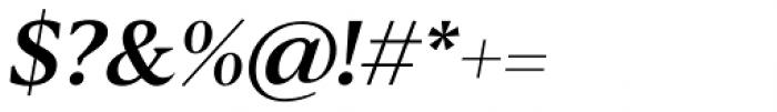 Blacker Text Medium Italic Font OTHER CHARS