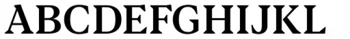 Blacker Text Medium Font UPPERCASE