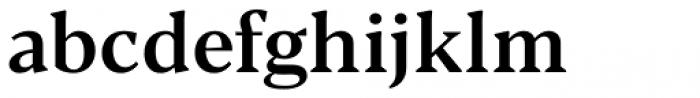 Blacker Text Medium Font LOWERCASE