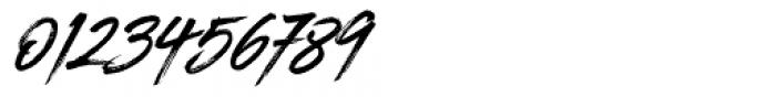Blackhawk Italic Font OTHER CHARS