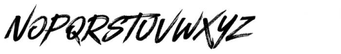 Blackhawk Italic Font LOWERCASE