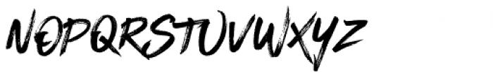 Blackhawk Regular Font UPPERCASE