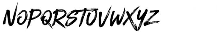 Blackhawk Regular Font LOWERCASE