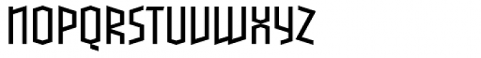 Blackletter Sans One Light Font UPPERCASE