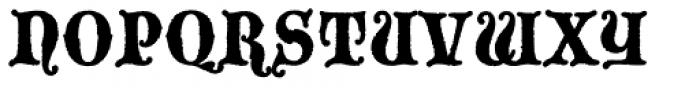 Blackmoor Std Font UPPERCASE