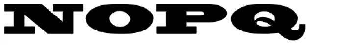 Blackoak Font UPPERCASE