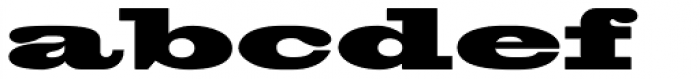 Blackoak Font LOWERCASE