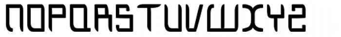 Blackout Font UPPERCASE