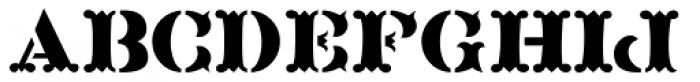 Blacksmith JNL Font UPPERCASE