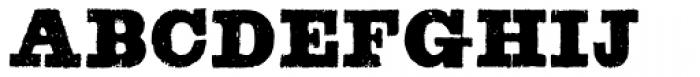 Blackstock Font UPPERCASE