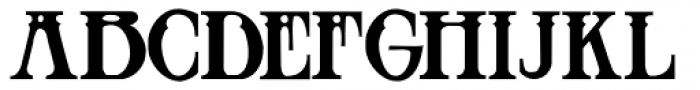 Blackthorn Font UPPERCASE
