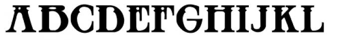 Blackthorn Font LOWERCASE