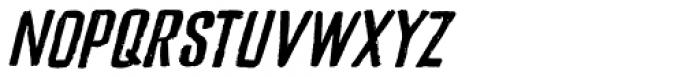 Bladesmith Italic Font UPPERCASE