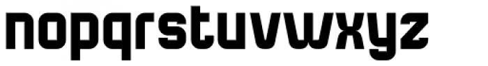 Bladi One 4F Bold Font LOWERCASE