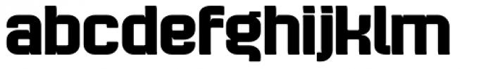 Bladi Two 4F Bold Font LOWERCASE