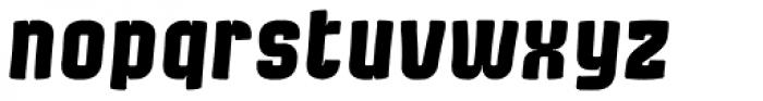 Bladi Two Cond Comic 4F Bold Italic Font LOWERCASE